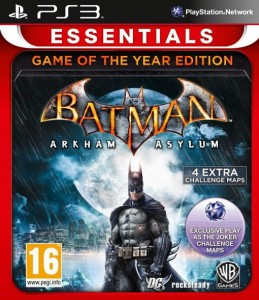Batman: Arkham Asylum GOTY PS3