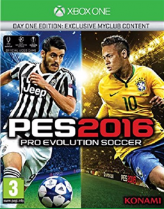 PES 2016  Pro Evolution Soccer + Euro XBOX ONE