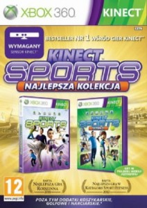 Kinect Sports 1 & 2 Ultimate PL XBOX 360