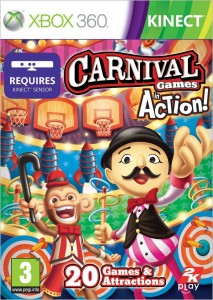 Carnival Games In Action Używana XBOX 360