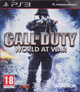 Call of Duty:World at War PL PS3