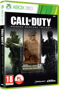Call of Duty 4: Modern Warfare Trylogia PL XBOX 360