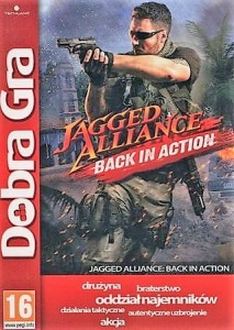 Jagged Alliance Black in Action PL PC