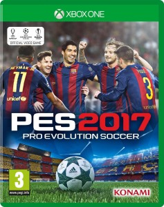 PES 2017  Pro Evolution Soccer D1  XBOX ONE