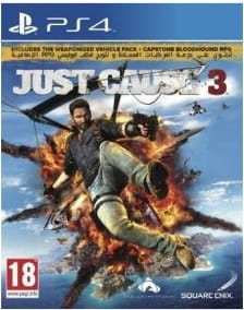 Just Cause 3 PL +  DLC PS4