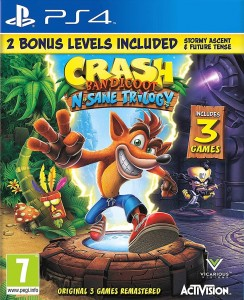 Crash Bandicoot N.Sane Trilogy + Bonus PS4