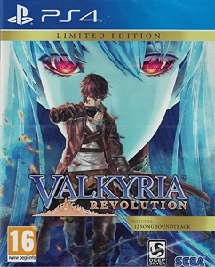Valkyria Revolution Limited Edition PS4