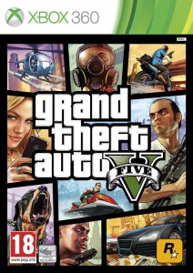 Grand Theft Auto V GTA 5 PL XBOX 360