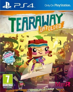 Tearaway Unfolded  PL Messenger Edition  PS4