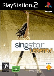 SingStar Legends Używana PS2