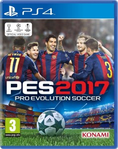 PES 2017  Pro Evolution Soccer D1  PS4