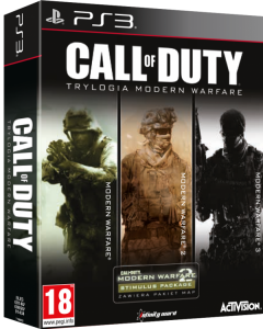 Call of Duty 4: Modern Warfare Trylogia PL PS3