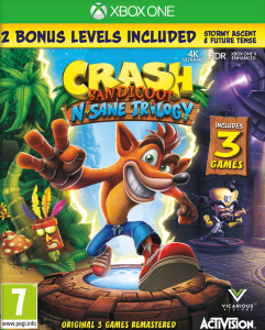 Crash Bandicoot Trilogy + Bonus XBOX ONE