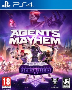 Agents of Mayhem D1 PL PS4