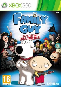 Family Guy Back to the Multiverse Używana XBOX 360