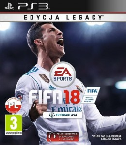 FIFA 18 Legacy Edition PL PS3