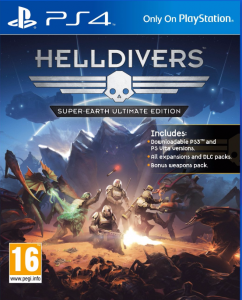 Helldivers Super Earth Ultimate Edition PL PS4