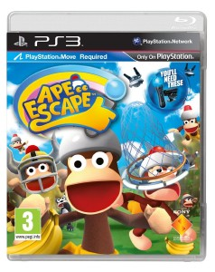 Ape Escape/ Łap Małpy PL PS3