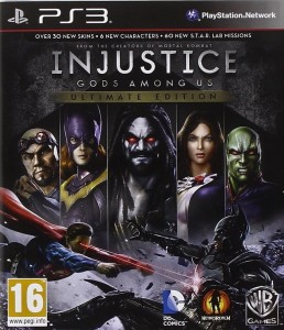 Injustice Gods Among Us Ultimate Edition PL PS3