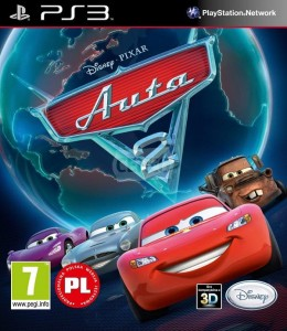 Auta 2: The Video Game PL Używana PS3