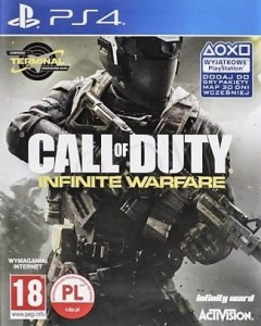 Call of Duty Infinite Warfare DLC PL + Steelbook PS4