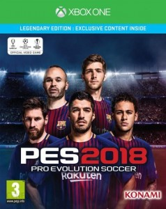 Pro Evolution Soccer PES 2018 Legendary XBOX ONE