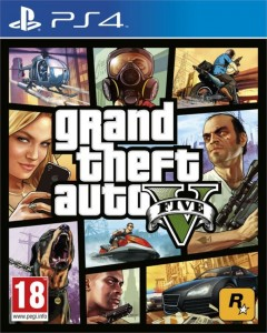 Grand Theft Auto V GTA 5 PL PS4