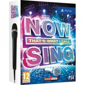 Now Sing + Mikrofon  PS4