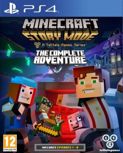 Minecraft: Story Complete Adventure Używana PS4