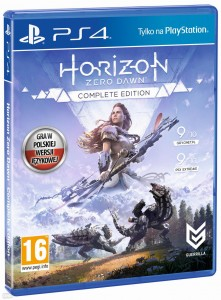 Horizon Zero Dawn Comlete Edition PL dubbing PS4