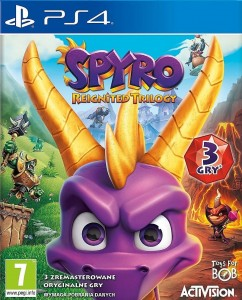 Spyro Reignited Trilogy PL dubbing PS4